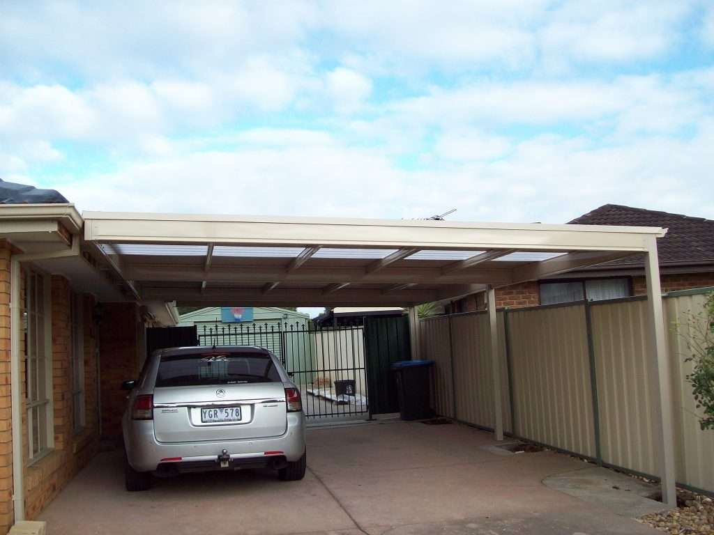 Flat Roof Colorbond Steel Veranda with Trimdeck Roofing (4)