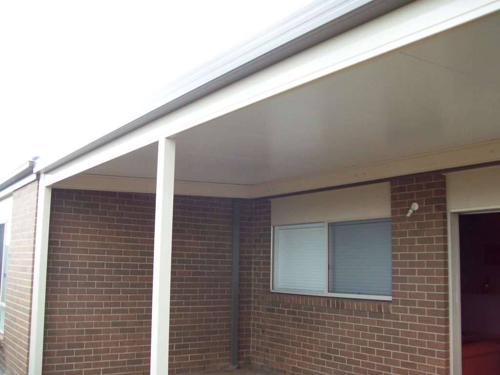 Flat Roof Veranda with Solarspan Roofing